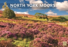 North York Moors A4 2019, Paperback Book