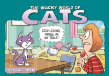 Wacky World of Cats A4 2019, Paperback Book