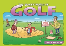 Wacky World of Golf A4 2019, Paperback Book