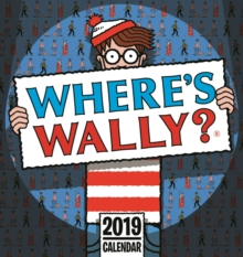 Wheres Wally Easel 2019, Paperback Book