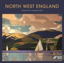North West England Poster Art NRM Wiro W 2019, Paperback Book