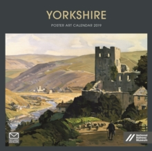 Yorkshire Poster Art NRM Wiro W 2019, Paperback Book