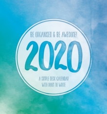 BE ORGANISED & BE AWESOME EASEL 2020,  Book