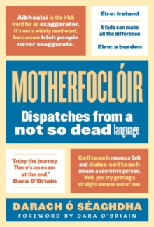 Motherfocloir : Dispatches from a not so dead language, Hardback Book