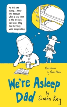 We're Asleep, Dad, Hardback Book