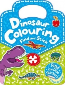Stick & Find - Dinosaur, Paperback / softback Book