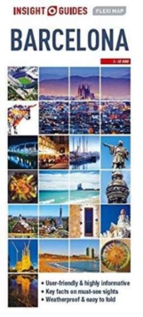 Insight Guides Flexi Map Barcelona, Sheet map Book
