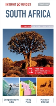 Insight Guides Travel Map South Africa, Sheet map Book