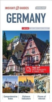 Insight Guides Travel Map Germany, Sheet map Book