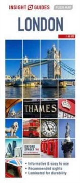 Insight Flexi Map London, London Travel Map, Sheet map Book