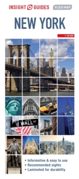 Insight Guides Flexi Map New York City, Sheet map Book