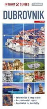 Insight Guides Flexi Map Dubrovnik, Sheet map Book