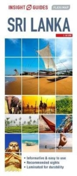 Insight Guides Flexi Map Sri Lanka, Sheet map Book
