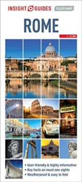 Insight Guides Flexi Map Rome, Sheet map Book