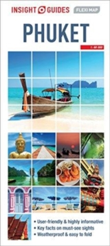 Insight Guides Flexi Map Phuket, Sheet map Book
