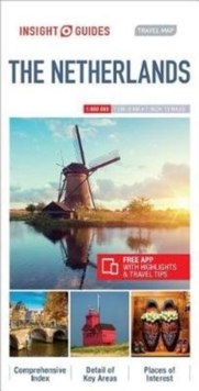 Insight Guides Travel Map Netherlands, Sheet map Book