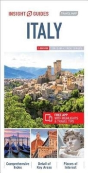 Insight Guides Travel Map Italy, Sheet map Book