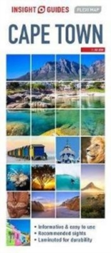 Insight Guides Flexi Map Cape Town, Sheet map Book
