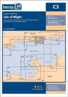 Imray Chart C3 : Isle of Wight, Sheet map, folded Book