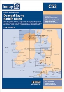 Imray Chart C53 : Donegal Bay to Rathlin Island, Paperback / softback Book