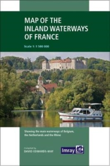 Imray : Map of the Inland Waterways of France 3, Paperback / softback Book