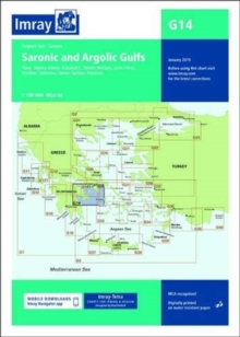 Imray Chart G14 : Saronic and Argolic Gulfs, Paperback / softback Book