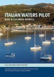 Italian Waters Pilot, Hardback Book