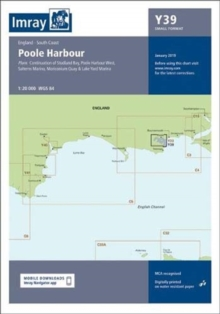 Imray Chart Y39 : Poole Harbour (Small Format), Sheet map, folded Book