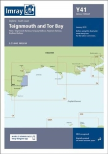 Imray Chart Y41 : Teignmouth and Tor Bay (Small Format), Sheet map, folded Book