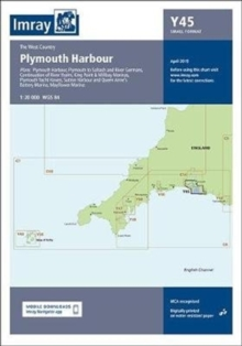 Imray Chart Y45 : Plymouth Harbour, Sheet map, folded Book