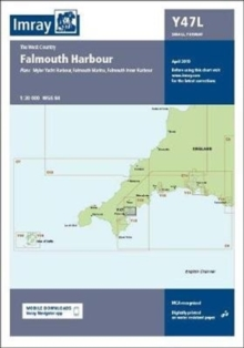 Imray Chart Y47 Falmouth Harbour Laminated : Laminated Y47 Falmouth Harbour (Small Format), Sheet map, flat Book