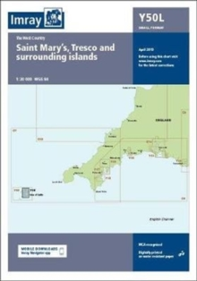 Imray Chart Y50 Laminated : Laminated Y50 Saint Mary's, Tresco and Surrounding Islands (Small Format), Sheet map, flat Book