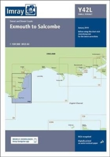Imray Chart Y42 Laminated : Laminated Y42 Exmouth to Salcombe (Small Format), Sheet map, flat Book