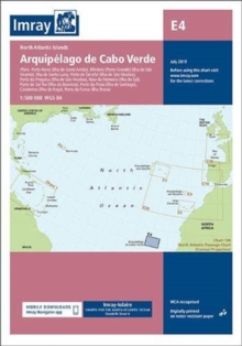 Imray Chart E4 : Arquipelago de Cabo Verde, Sheet map, folded Book