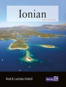 Ionian : Corfu, Levkas, Cephalonia, Zakinthos and the adjacent mainland coast to Finakounda, Paperback / softback Book