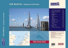 Imray 2120 North Sea - Nieuwpoort to Den Helder Chart Atlas 2020 : Nieuwpoort to Den Helder (including North Sea Passage Planning sheet), Spiral bound Book