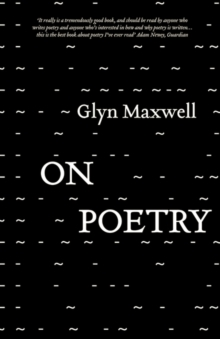 On Poetry, Paperback Book