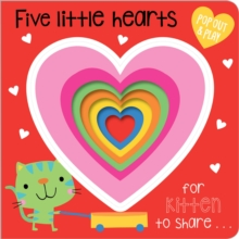 Five Little Hearts, Board book Book