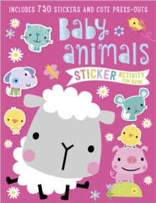 Baby Animals Sticker Activity Book, Paperback Book