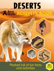 Bear Grylls Sticker Activity: Desert, Paperback / softback Book