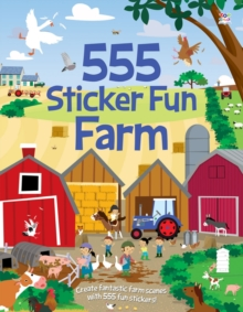 555 Sticker Fun Farm, Paperback / softback Book