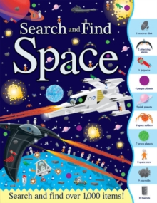 Search and Find Space, Paperback / softback Book