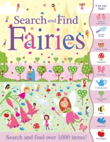 Search and Find Fairies, Paperback / softback Book
