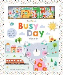 Tiny Town Busy Day, Hardback Book