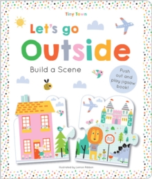 Tiny Town Let's go outside, Hardback Book