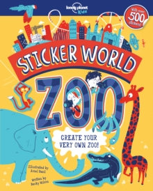Sticker World - Zoo, Paperback Book