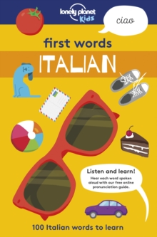 First Words - Italian : 100 Italian words to learn, Paperback / softback Book