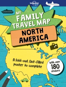 My Family Travel Map - North America, Paperback Book