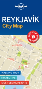 Lonely Planet Reykjavik City Map, Sheet map, folded Book