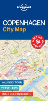 Lonely Planet Copenhagen City Map, Sheet map, folded Book